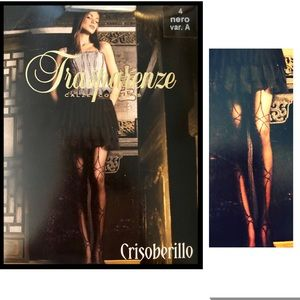 Transparenze Accessories - Pantyhose Transparenze Black Luxury  from Italy